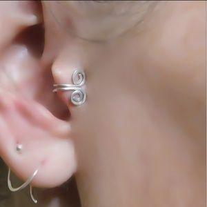 COMING 🔜 925 Sterling Spirals Cartilage Cuff